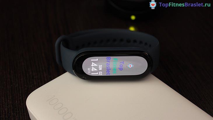 Собственный циферблат на Xiaomi Mi Band 6
