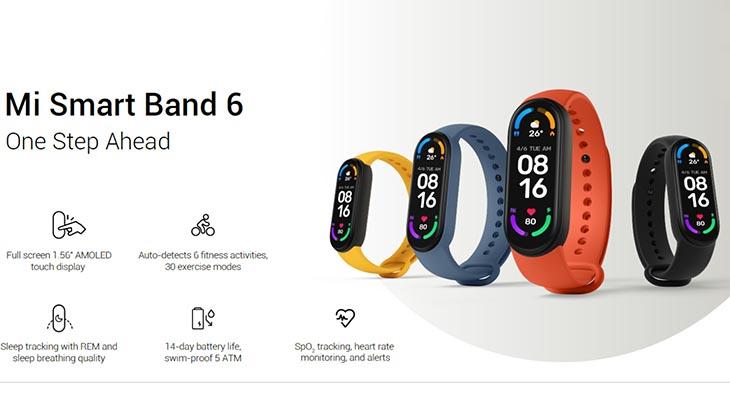 Постер для Xiaomi Mi Band 6