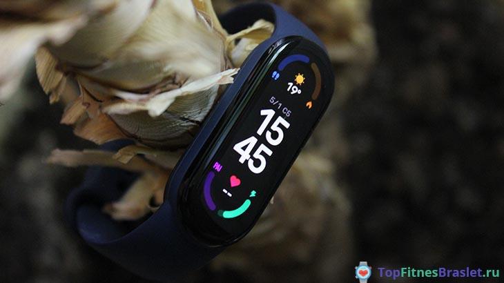 Дизайн Xiaomi Mi Smart Band 6
